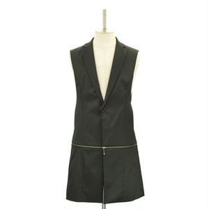 Sleeveless Zip Jacket