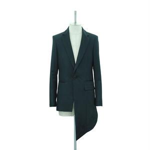 Back Layered Asymmetric Jacket
