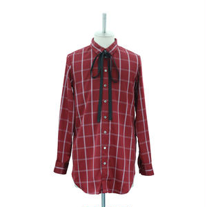 Graph Check Ribbon Shirt