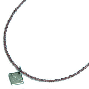 "Gemstone Necklace ""Garnet"""