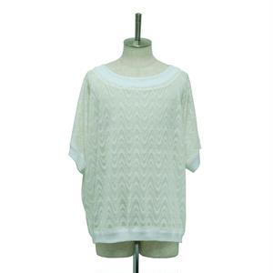 【Last1】Summer Knit Dolman Pullover
