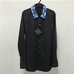 【Sample】ダブルカラーシャツ / ブラック