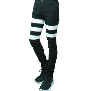 【Black×White Last1】Switching Stretch Skinny