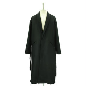 【Last1】Over Sized Shawl Collar Coat