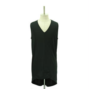 Back Long Round Tank Top