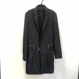 【Sample】Tバーカフスロングジャケット