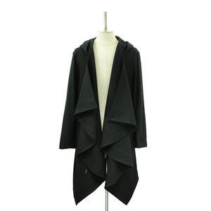 Hooded Drape Coat