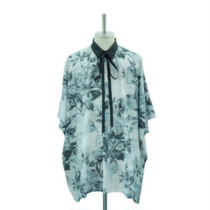 【Last1】Flower Ribbon Square Shirt