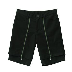 Zip Design Short Pants