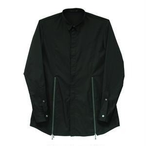【Last1】Zip Design Shirt