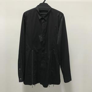 【Sample】ZIPデザインシャツ