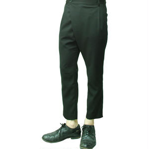 Tapered Wrap Pants