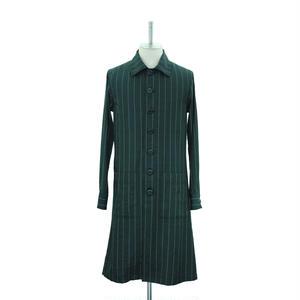 Stripe Long Shirt Jacket