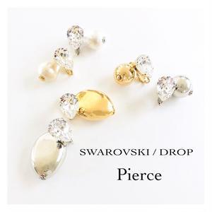 SWAROVSKI  /  DROP  /  Pierce