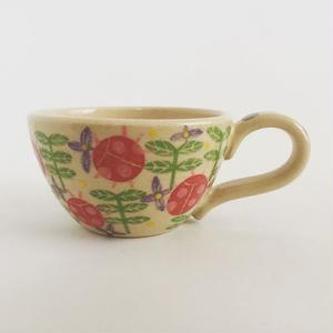 色絵付けマグカップ(てんとう虫)