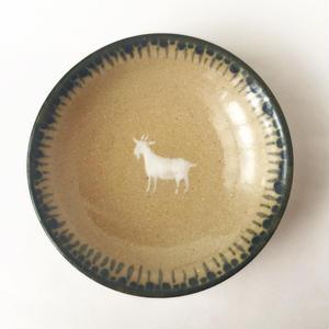 ヒージャー皿(縁取り)