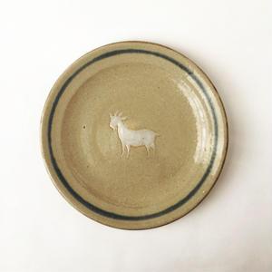 ヒージャー皿(ブルーライン)
