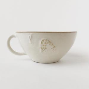スープカップ(キリンと木)