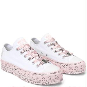 CONVERSE x MILEY CYRUS Chuck taylor all srar LIFT - White/Pink