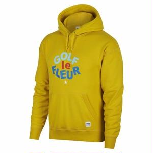 SALE!! ONE STAR x GOLF LE FLEUR PULLOVER HOODIE - YELLOW
