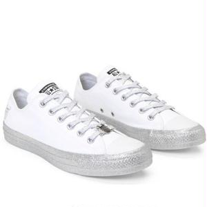 CONVERSE x MILEY CYRUS Chuck taylor all srar LOW - White/Silver