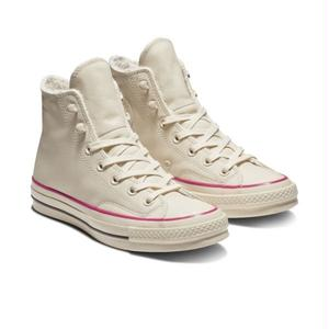 Chuck Taylor All Star 1970`s HI STREET WARMER LEATHER  Natural Ivory 162434C (税込み.送料無料)