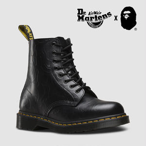 Dr. Martens and A BATHING APE®  1460 BLACK