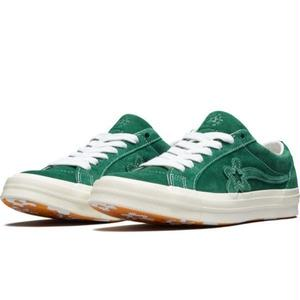 CONVERSE X GOLF LE FLEUR ONE STAR GREEN 162130C