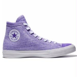 CHUCK TAYLOR ALL STAR x NIKE FLYKNIT HI PURPLE