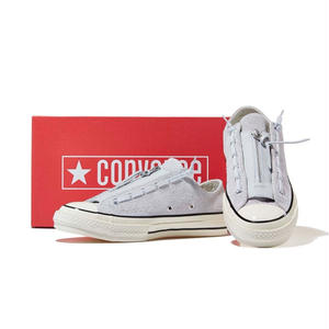 [CONVERSE] Chuck Taylor All Star 1970`s Suede Zip Ox Pure Platinum