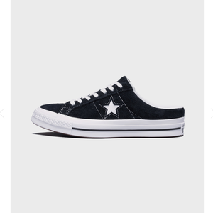 CONVERSE ONE STAR MULE Black 162066C