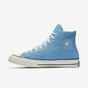Converse Chuck Taylor All Star 70  Fuzzy Bunny High Top Heritage Blue 155446C