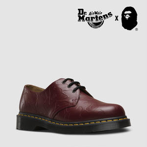 Dr. Martens and A BATHING APE® 1461 CHERRY RED