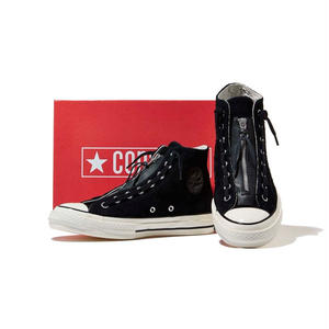 Converse Chuck Taylor All Star 70 Suede Zip HI black
