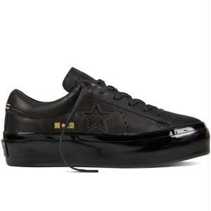 Converse Onestar Ox Platform Leather - BLACK