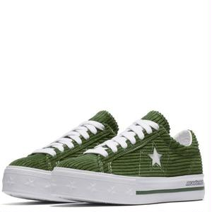 "Converse One Star Platform OX  ""MadeMe Collaboration""Garden Green 561392C (4cm up!)"