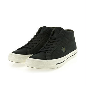 CONVERSE ONE STAR BLACK MID