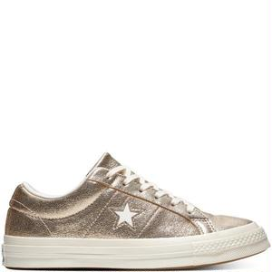 CONVERSE WOMEN ONE STAR OX GOLD 161589C