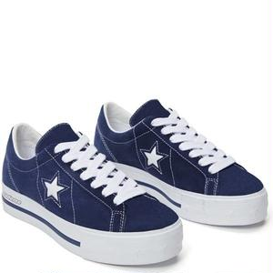 "Converse One Star Platform OX ""MadeMe Collaboration""Medieval Blue 562960C (4cm up!)"