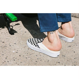 VANS CLASSIC SLIP-ON MULE CHECKERBOARD