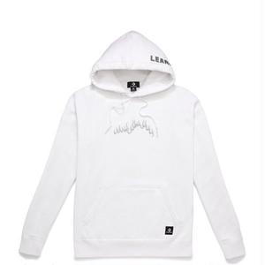 CONVERSE X BABYLON PULLOVER MENS HOODIE WHITE