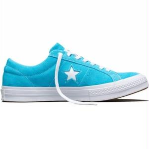 ONE STAR CLASSIC SUEDE Fresh Cyan 158437C