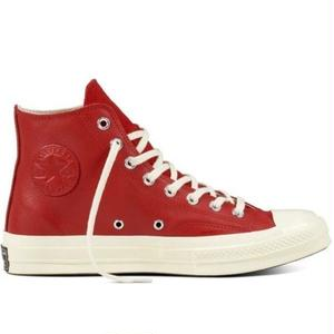 CONVERSE CHUCKTAYLOR 1970`s Wordmark wool high -RED