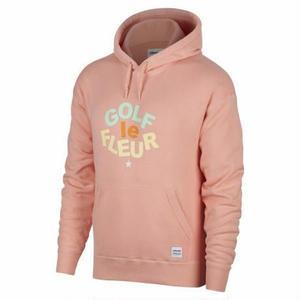 ONE STAR x GOLF LE FLEUR PULLOVER HOODIE - Peach