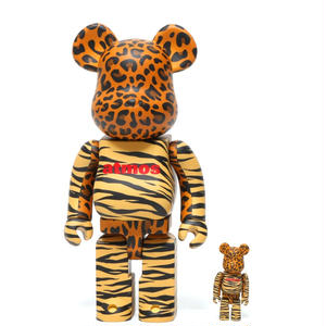 BE@RBRICK x atmos ANIMAL 100% + 400%