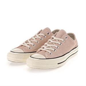 Chuck Taylor All Star 1970`s vintage suede DUSK PINK LOW 157587C
