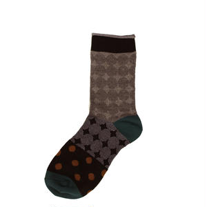 dots & dots socks/ブラック