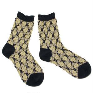 chain pop socks / ブラック