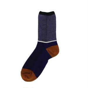 bush socks/ブルー