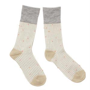 starlight sky socks / ベージュ